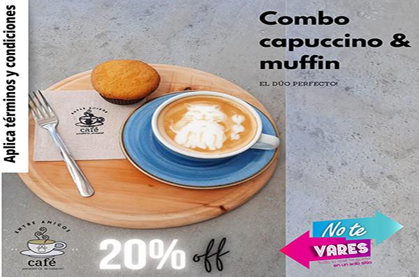 COMBO CAPUCCINO & MUFFIN