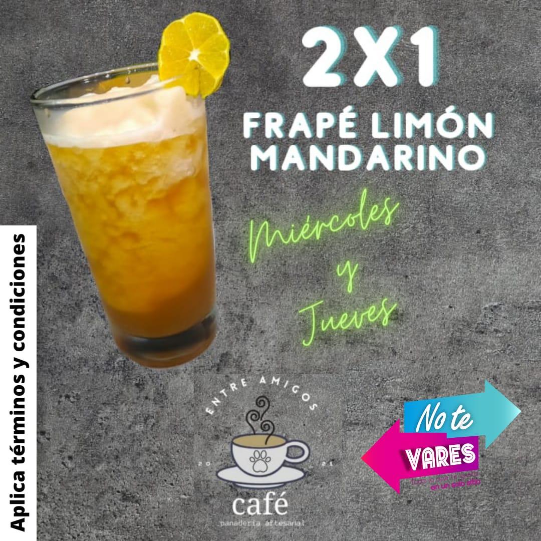 2X1 FRAPÉ LIMÓN MANDARINO